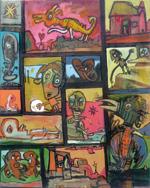 Tableau Anto Exposition Saints de Glace 2009